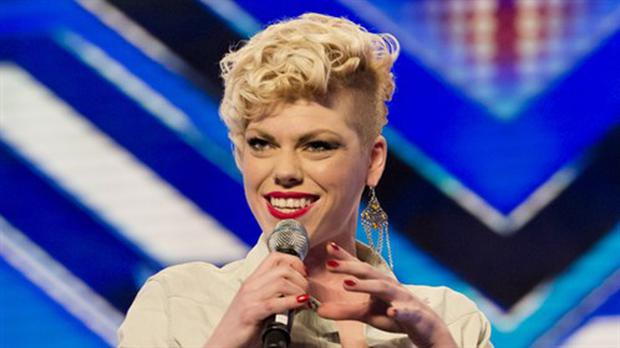 Zoe Alexander reacted with fury when she was rejected by the judges. Photo: ITV