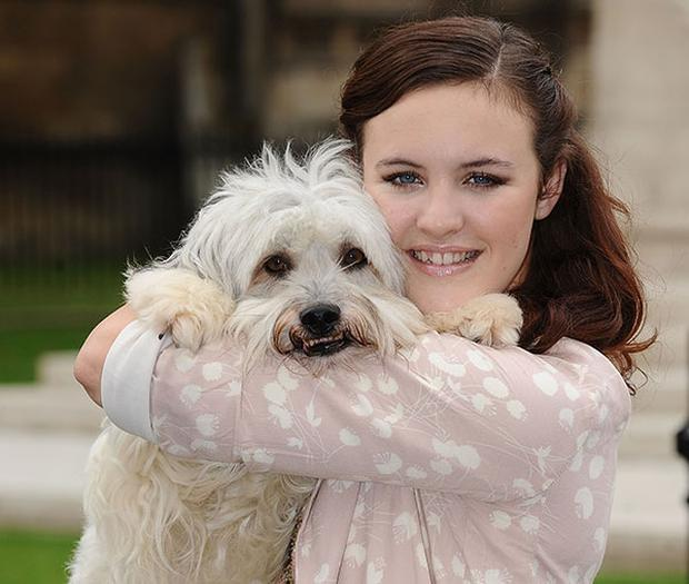 Ashleigh and Pudsey. Photo: Getty Images.