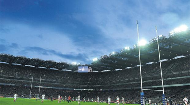 Croke Park's decision to open up their leading GAA stadiums to the oval ball game has given the IRFU a platform to make a bid for the Rugby World Cup.