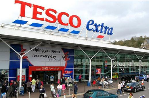 Tesco. Photo: PA