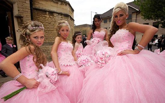 Hit ITV show are looking to take a slice of Channel 4's 'My Big Fat gYpsy Wedding' success. Photo: Channel 4