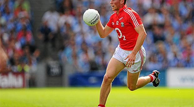 Paddy Kelly in action for Cork