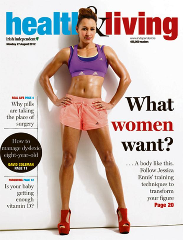6ce18114a How to get a body like Jessica Ennis's - Independent.ie
