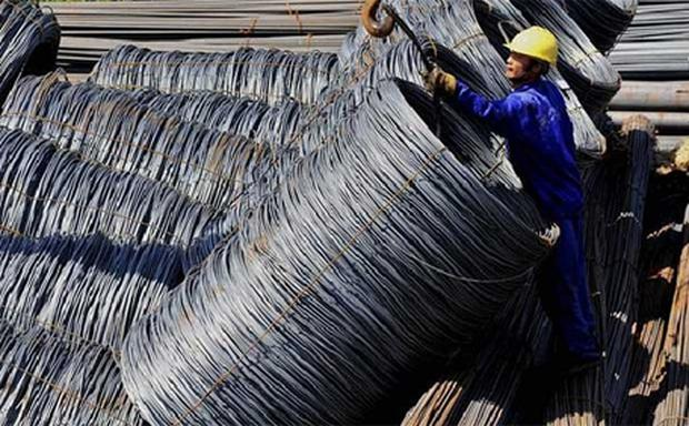 China's export sector is suffering from anaemic demand from Europe and the United States. In the first seven months, exports rose 7.8pc, while imports rose 6.4pc, leaving China in danger of missing its 10pc target for trade growth this year. Photo: Reuters