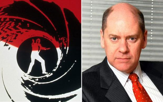 The James Bond themed party's guest of honour was the head of MI5 Jonathan Evans
