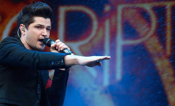 Danny O' Donoghue and his band The Script will be releasing a new album