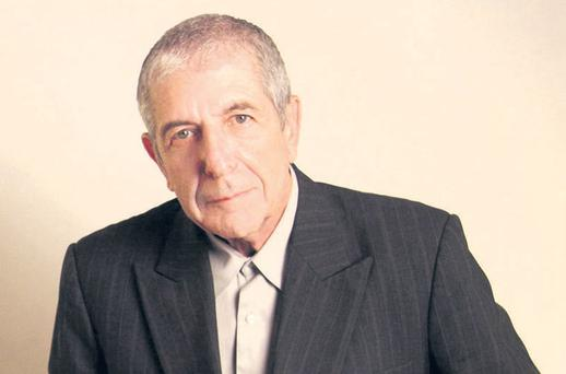 A golden sage: Leonard Cohen is Dublin-bound