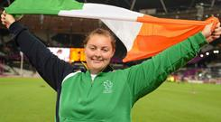 Ireland's Orla Barry. Photo: Sportsfile