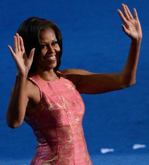 First lady Michelle Obama is famous for her toned arms.