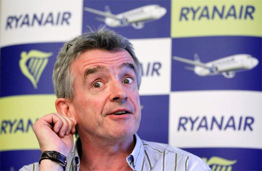 Ryanair chief Michael O'leary. Photo: Reuters
