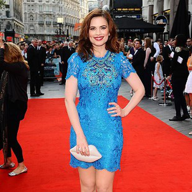 Hayley Atwell was staying tight-lipped about the Captain America sequel