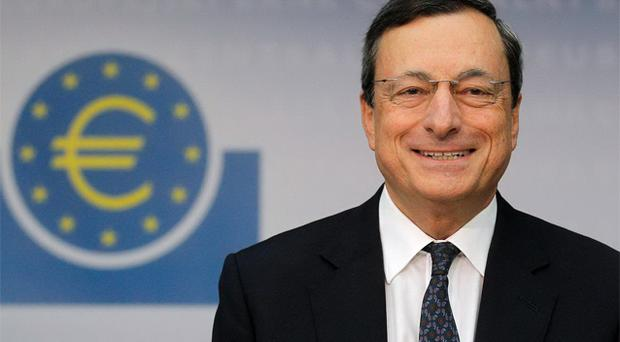 ECB chief Mario Draghi. Photo: Reuters