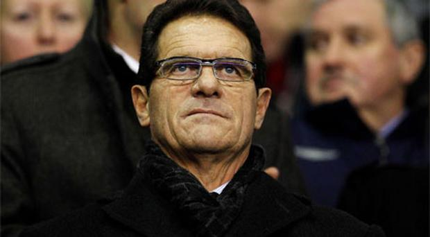 Fabio Capello. Photo: Reuters
