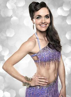 Victoria Pendleton, one of this year's celebrity contestants in BBC1's Strictly Come Dancing