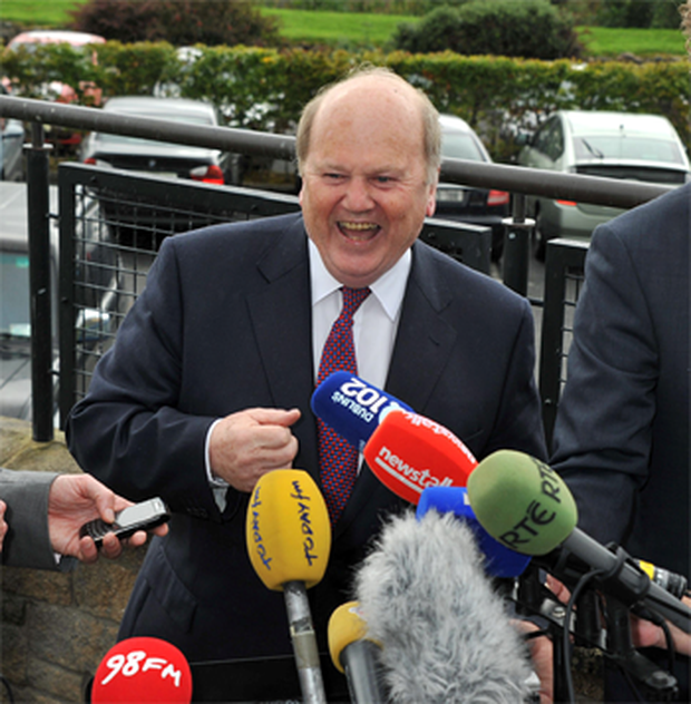 Neither Mr Corrigan nor Finance Minister Michael Noonan expects the ECB to buy Irish bonds.