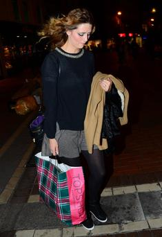 Mischa Barton, Grafton Street on September 13th 2012.