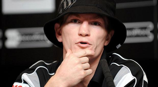 Back again: After over three years away from the ring - and a year after announcing his retirement from boxing - Ricky Hatton will make his comeback to the ring. Photo: PA