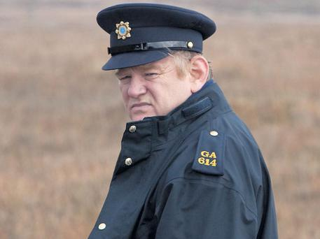 AN ALL-NEW DIGITAL REGIME: Dublin actor Brendan Gleeson in a scene from 'The Guard'