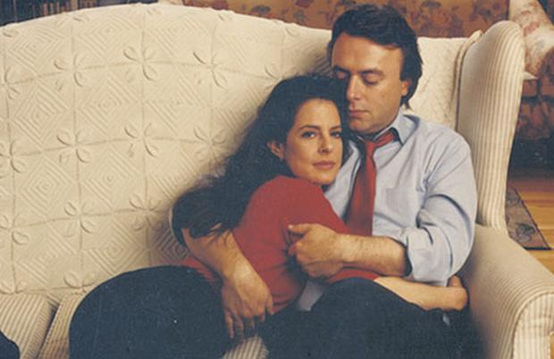 MISSION: Christopher Hitchens with his wife Carol Blue — the writer examined and interrogated cancer with characteristic doggedness