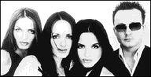 The Corrs currently touring Asia and Australia where they are number one.