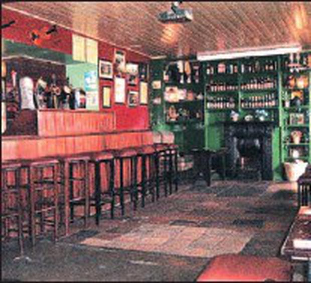 The old world charm Finnegan's is retained of the interior of Lily
