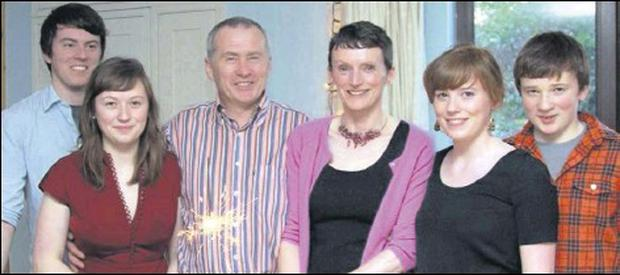 The McGinnity family of Dundalk featured in a powerful RTE radio documentary 'My Dad's Depression'.