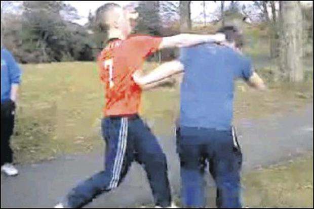 Footage of fights on streets of Ardee posted on YouTube