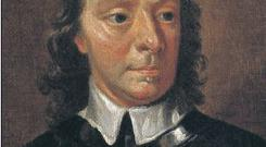 Lord Protector of England Oliver Cromwell.