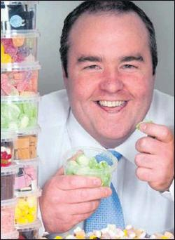 Kevin McGinty of 'Tubs Sweets'.