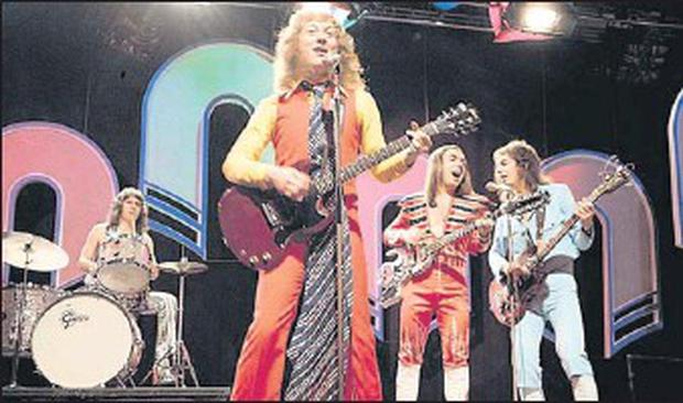 Noddy Holder and Slade in 1973.