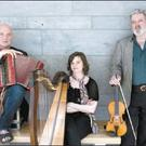 Baile Mhúirne bound: Breanndán Ó Beaghlaoich, Tommy Peoples and Laoise Kelly. Credit: Photo: Paul McCarthy