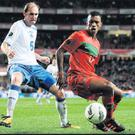 MANCHEstEr UNItED wINGEr NANI (rIGHt) POsEs A GrEAt tHrEAt FOr POrtuGAL