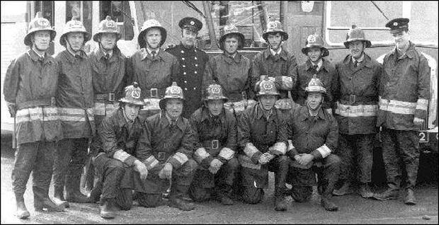 This picture of the Drogheda Fire Brigade was taken 30 years ago in 1972 and was kindly supplied to the Drogheda Independent by Brendan (Benny) McDonagh whose father Thomas is pictured second from right in the front row. Pictured back row, L-R: Brendan Collins, Frank Byrne, Thomas Lynch, Oliver Donagh, Fire Officer John Busby, Paul Fitzpatrick, Maurice Clarke, Paddy O'Neill, Paddy Reynolds and Station Officer Liam Malone. Front row, L-R (all deceased): Liam Hoey, Anthony Branigan, Christy Hoey, Thomas McDonagh and John Byrne.