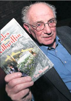 Drogheda author Tom Winters who launched his book, Tales from Kilgriffin and other stories in McHugh's last week. Credit: Paul Connor