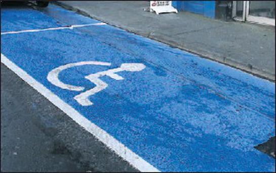 Disabled parking bays: great for patients