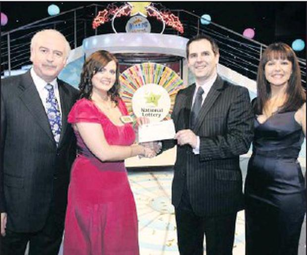 Aoife balances the books with € 55,000 lottery win