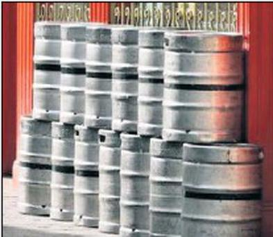 Stolen beer kegs have led to a loss of €40million across seven years in Ireland, according to the IBA.