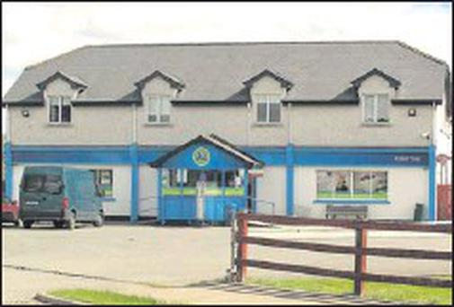 The Sandpit store where owner Malachy Mcgrane took on two masked raiders on Monday evening.