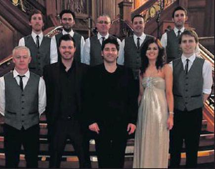 Electric Avenue with Brian Kennedy on that famous staircase.