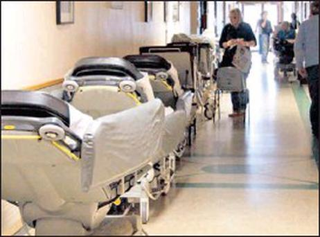Some hospitals have more than 30 patients on trolleys every morning despite the start of summer and the injection of €74m to tackle overcrowding last April