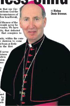 Bishop Denis Brennan.