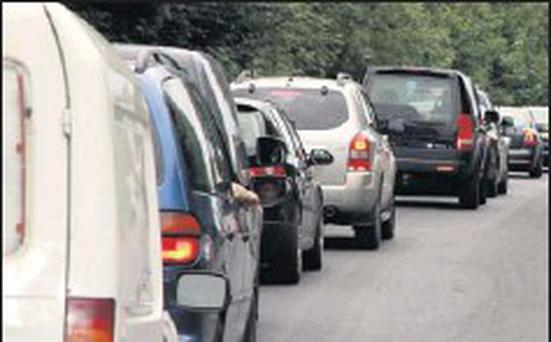 Traffic on the N11 (stock)