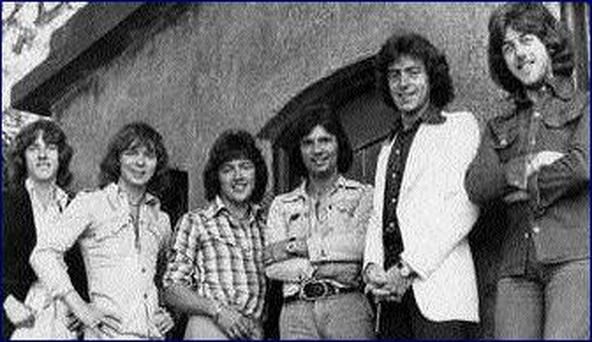 Last picture of Miami Showband Summer of 1975. Tony Geraghty Fran O'Toole, Ray Millar, Des Lee, Brian McCoy and Steve Travers