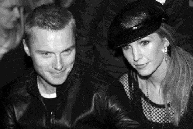 Ronan Keating and wife Yvonne pictured modeling at a recent Brown Thomas fashion show. Picture: Arthur Carron/KCP