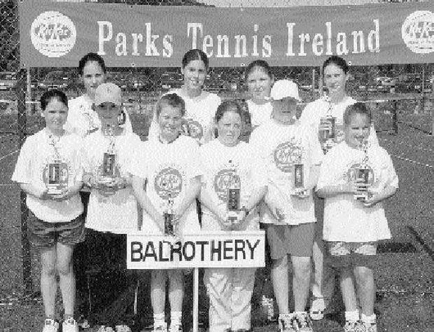 THE Balrothery girls team