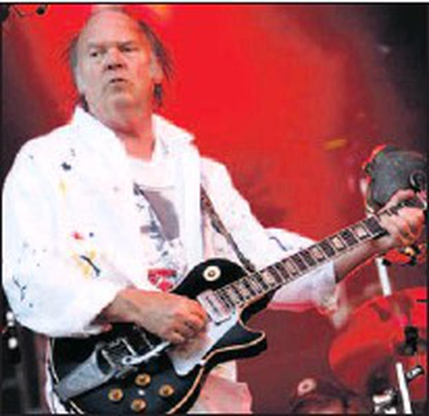Neil Young attracted 20,000 fans to Malahide Castle last summer.
