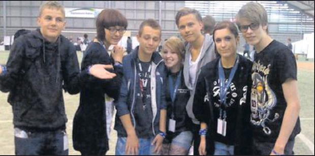 Students from Fingal represented Ireland at the 2011 Youthcamp event in the Danish city of Ballerup.