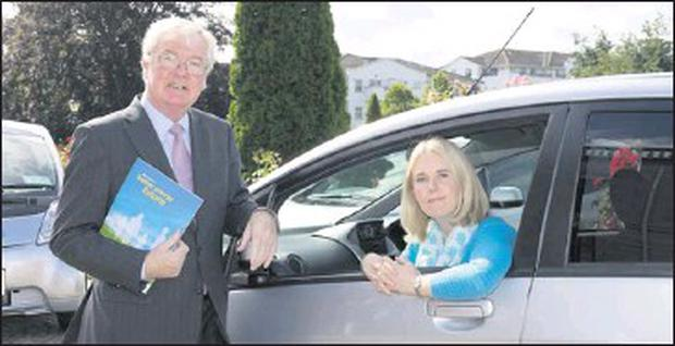 Sandra Flavin from Rush who has taken part in a major initiative to promote awareness about electric cars across the country.