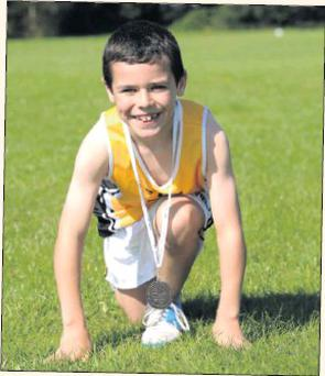 Joshua Kelly, who is a member of Portmarknock Athletic Club.