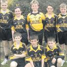 The Ballyellis N.S. squad who will be travelling to Navan tomorrow (Wednesday) in search of provincial soccer success.
